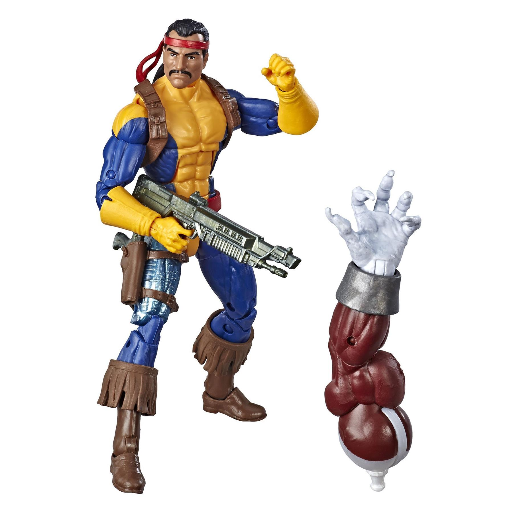 Hasbro-Marvel-Legends-X-Men-6-034-Action-Figure-Caliban-BAF thumbnail 14