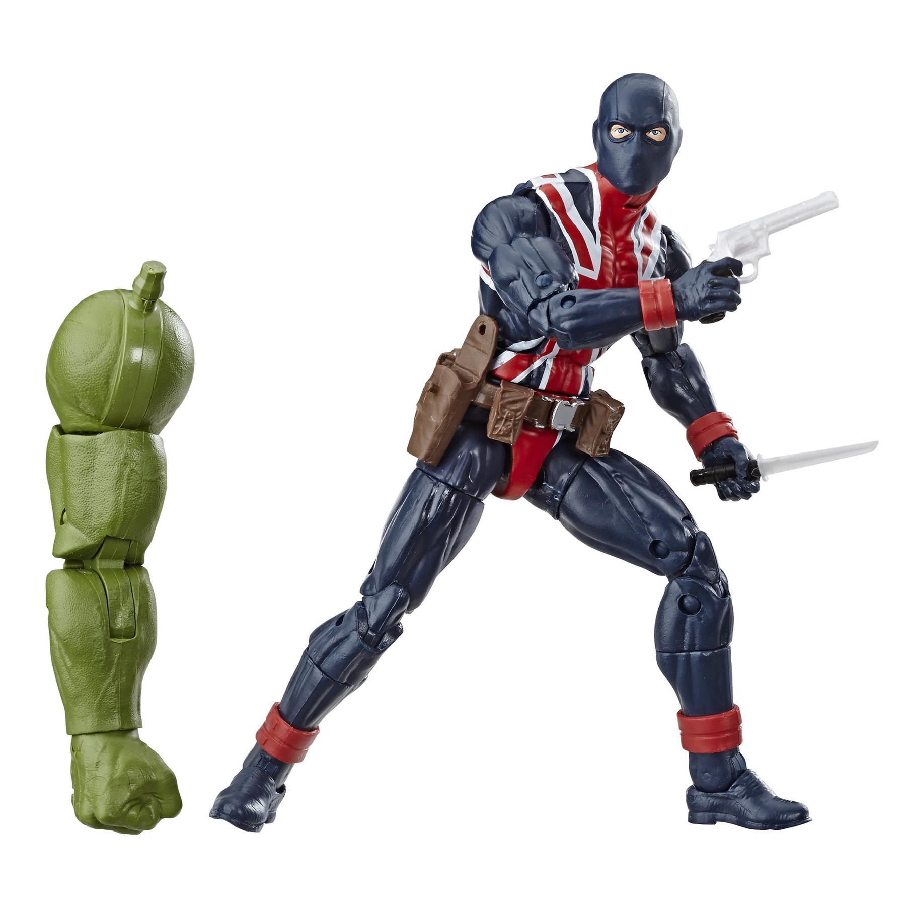 Marvel-Legends-Avengers-6-034-Action-Figures-Hulk-BAF thumbnail 13