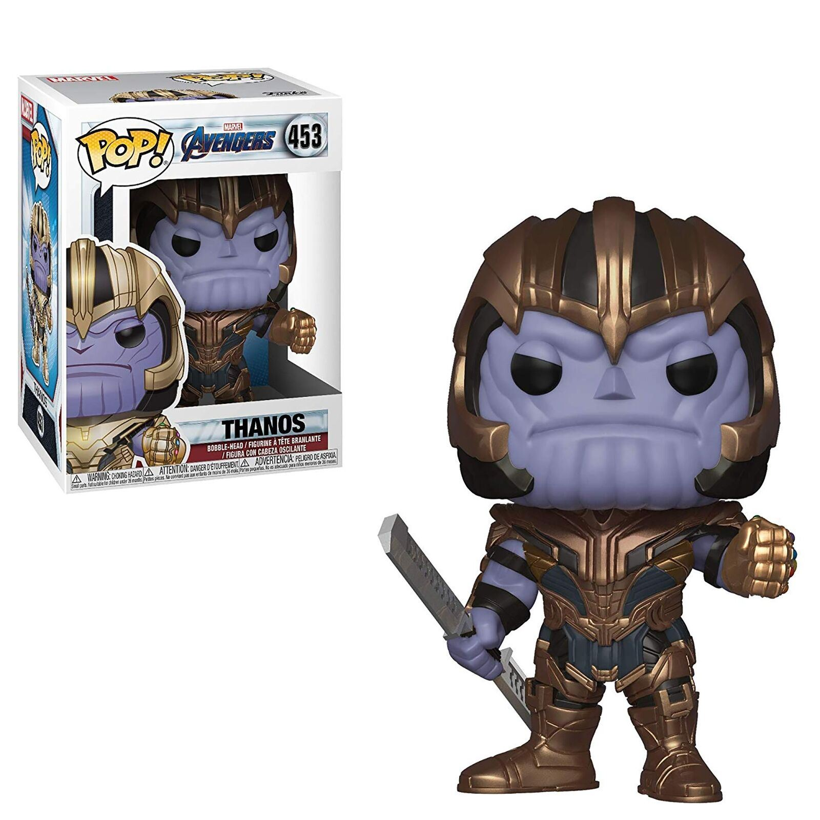 Funko-Endgame-Pop-Marvel-Avengers-Endgame-Vinyl-Collectables-Figures thumbnail 23