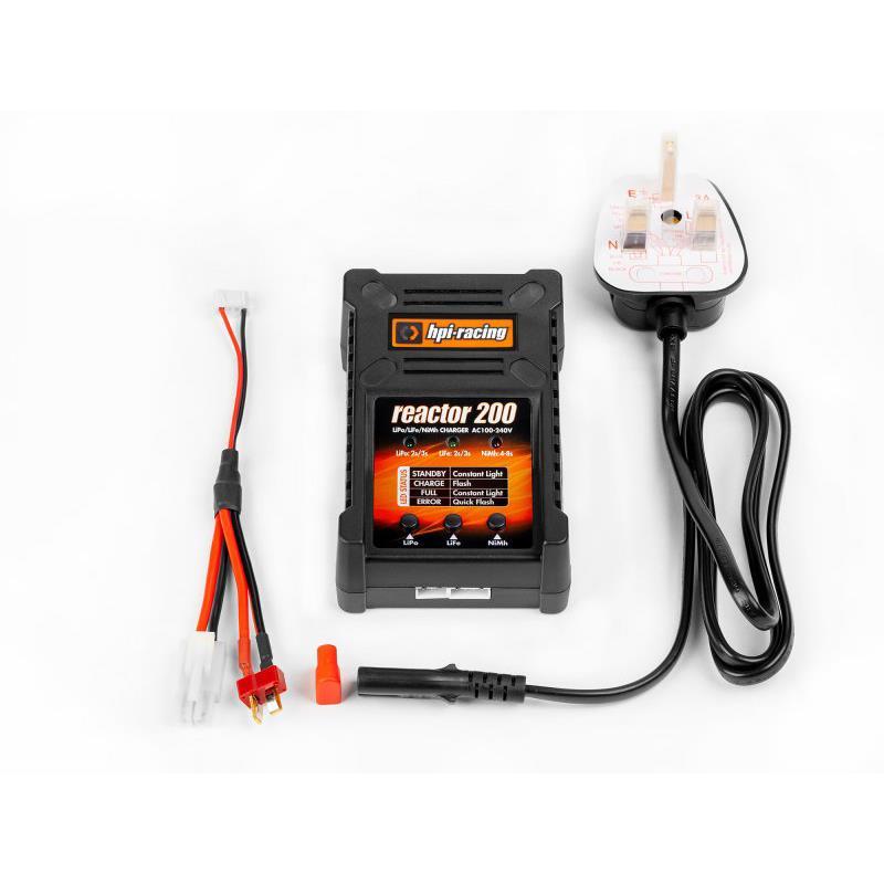 HPI 118050 Reactor 200 Charger UK Plug