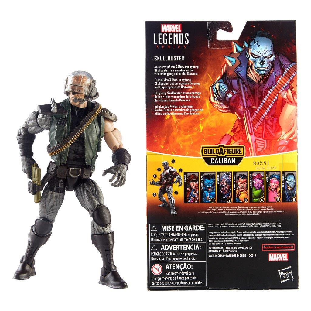 Hasbro-Marvel-Legends-X-Men-6-034-Action-Figure-Caliban-BAF thumbnail 26