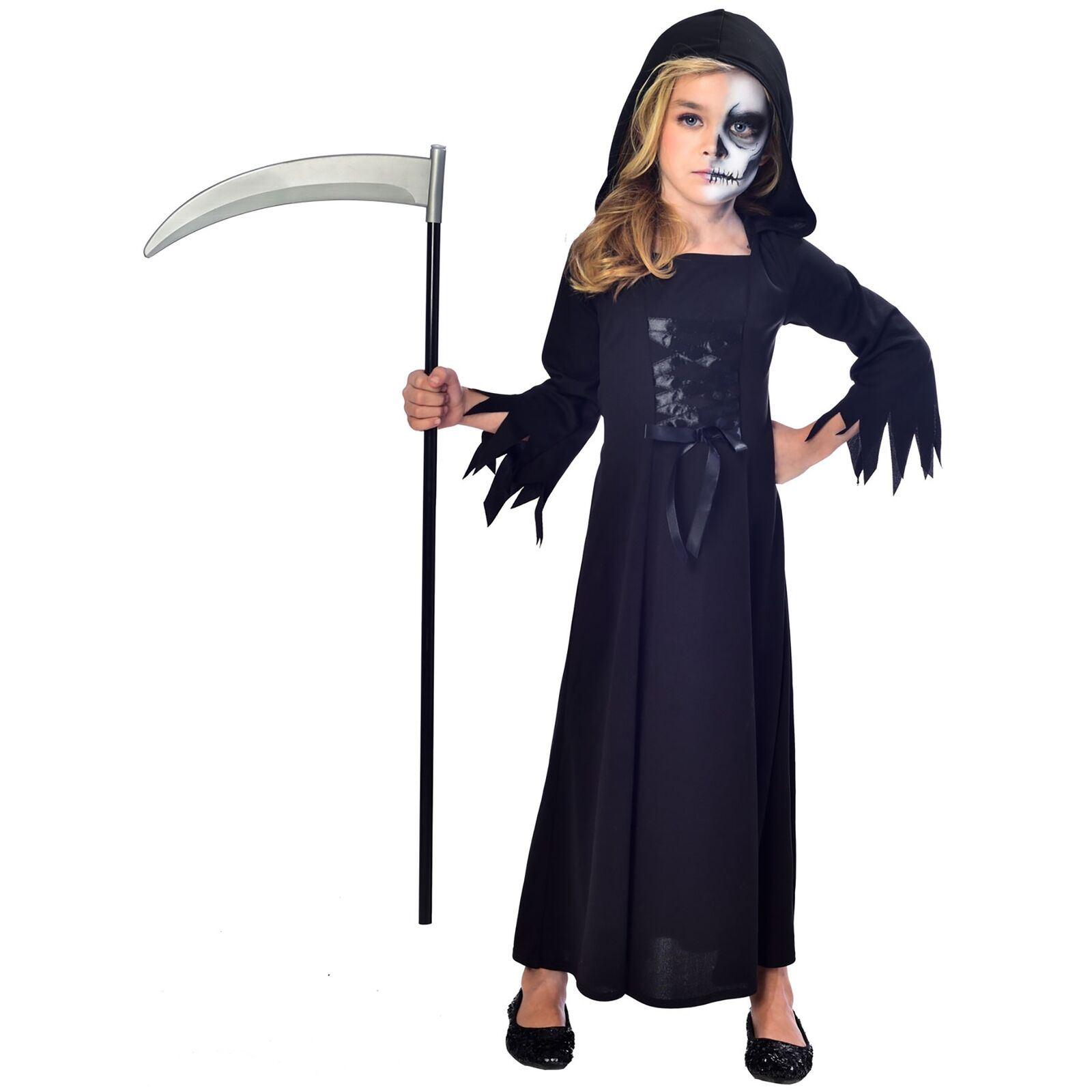 Child Fancy Grim Reaper  Costume