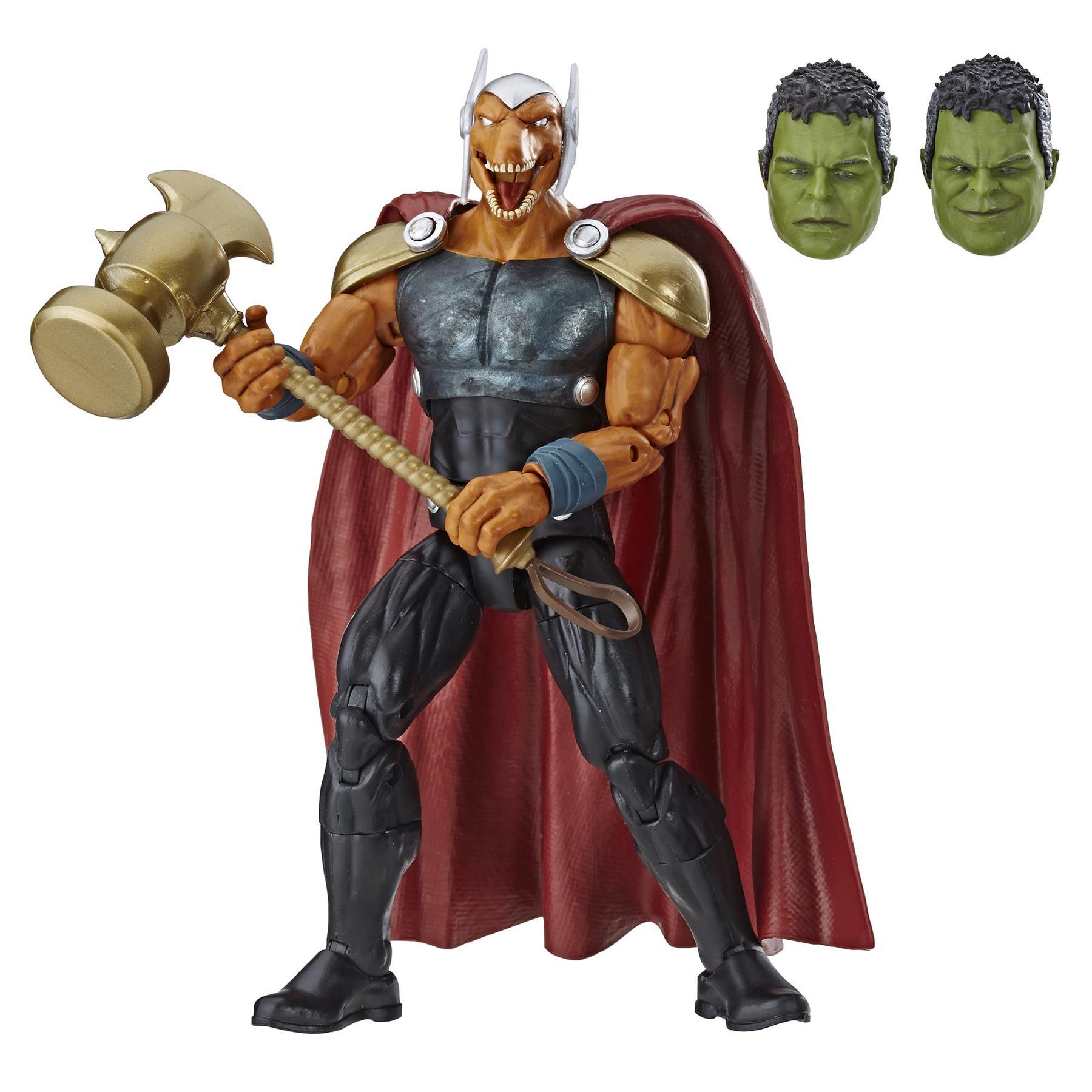 Marvel-Legends-Avengers-6-034-Action-Figures-Hulk-BAF thumbnail 3