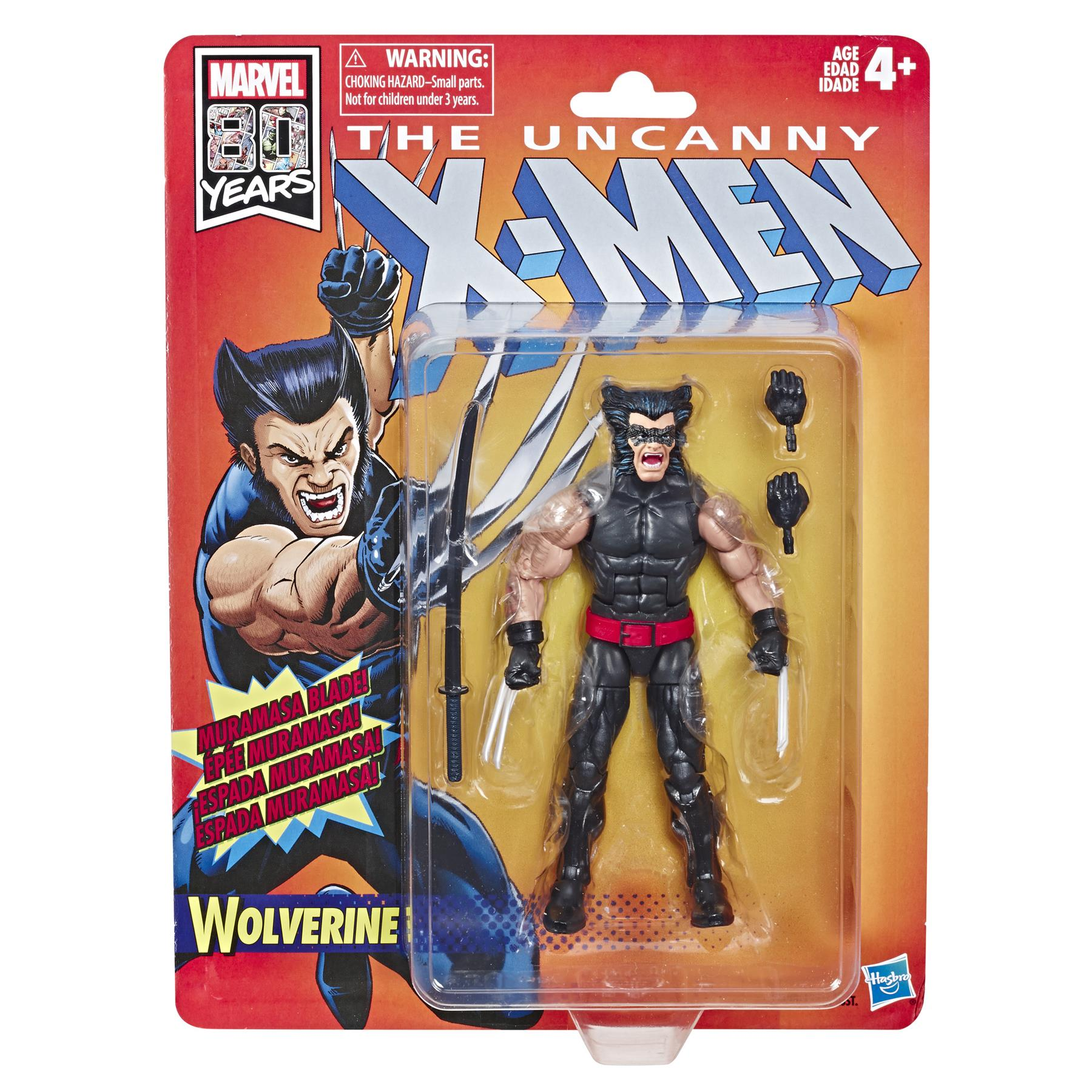 Marvel Legends Retro Uncanny X-Men Wave 1 Actionfigur Wolverine