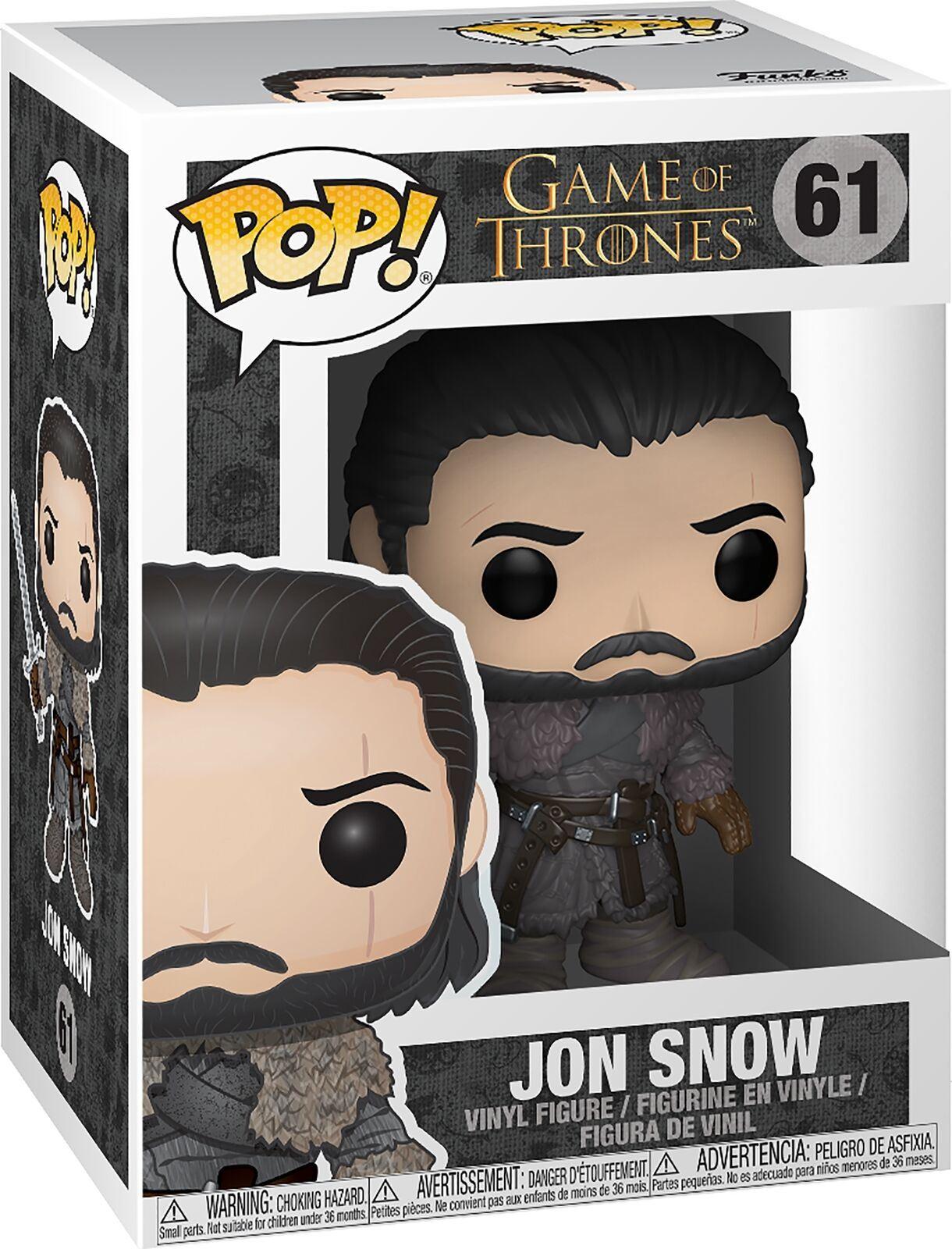 Beyond The Wall Funko Pop GAME OF THRONES-Jon Snow #29166