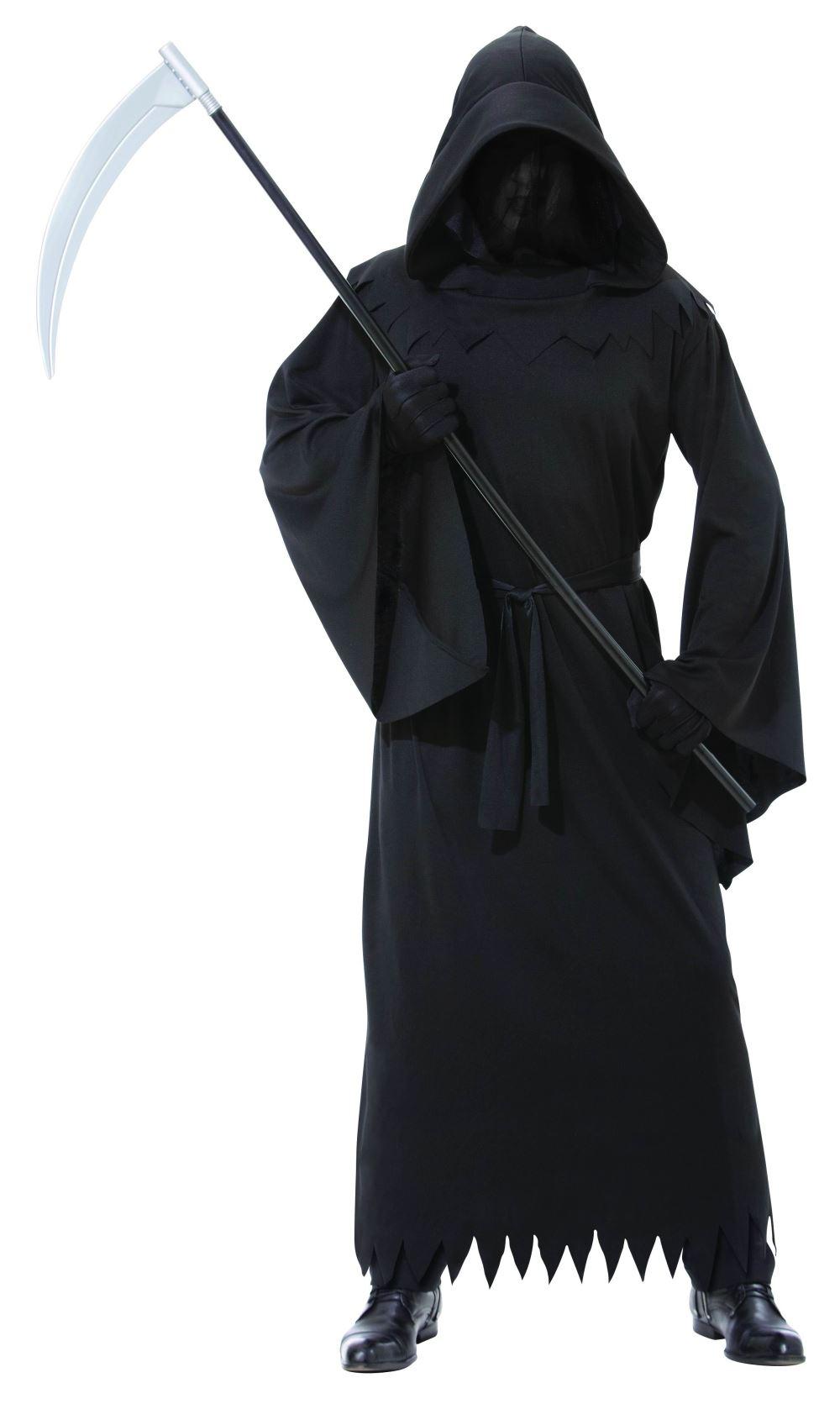 SALE HALLOWEEN GRIM REAPER SCARY Robe cloak with sleeves//Fancy Dress//Theatre