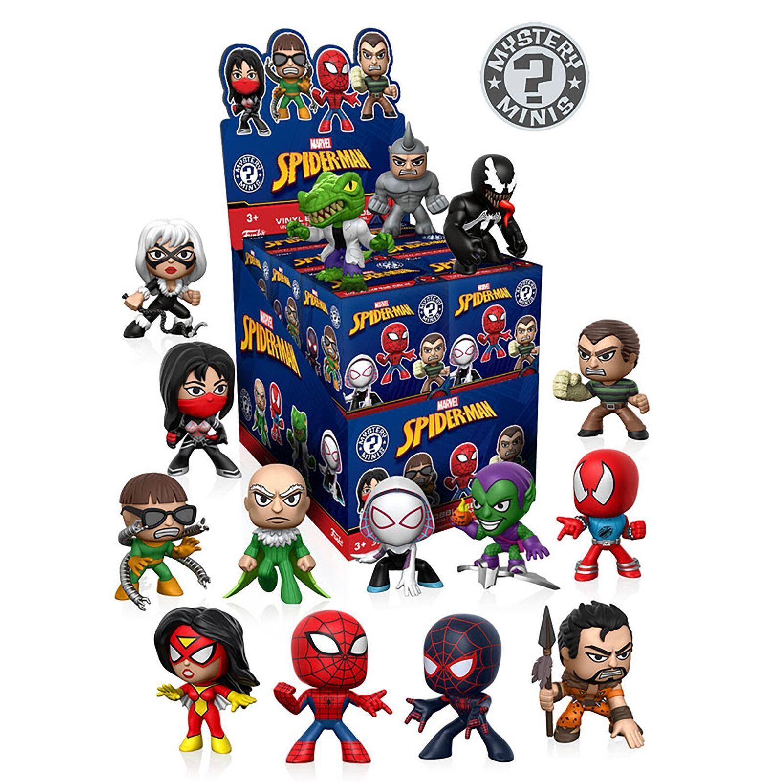 Funko Mystery Minis Marvel Spider Man Classic Blind Box Modele 1 Figure Ebay