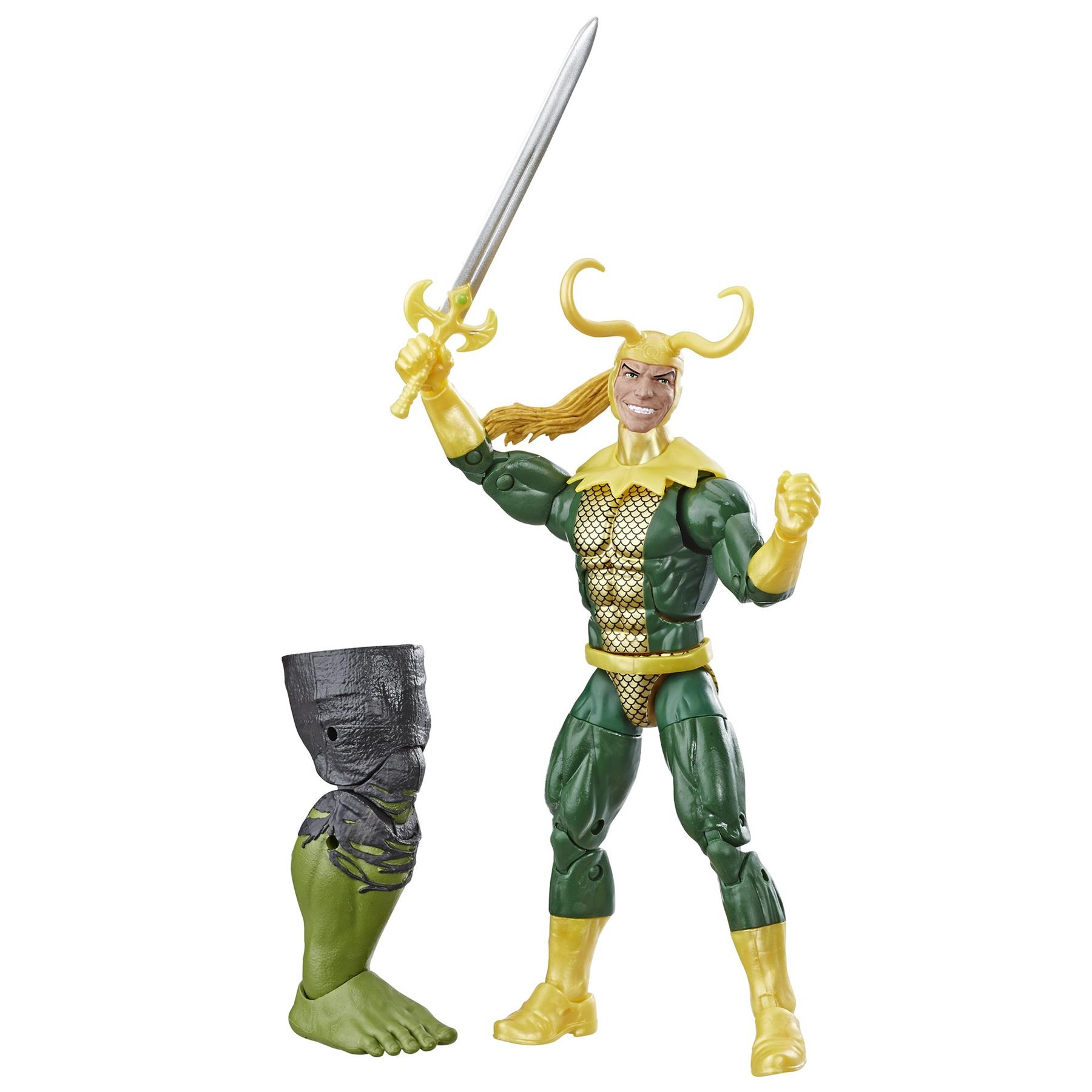 Marvel-Legends-Avengers-6-034-Action-Figures-Hulk-BAF thumbnail 5