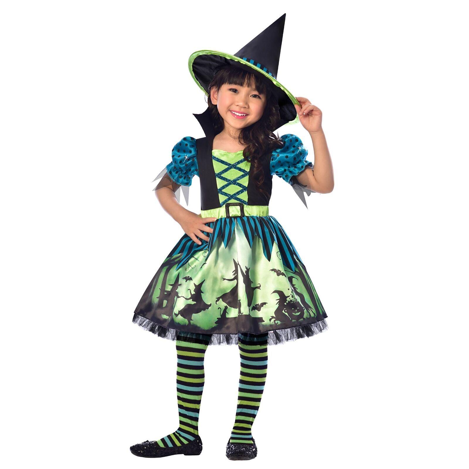vari tipi di così economico quantità limitata Dettagli su Amscan Hocus Pocus Costume da Strega Bambini Costume da  Halloween 3-6 Years