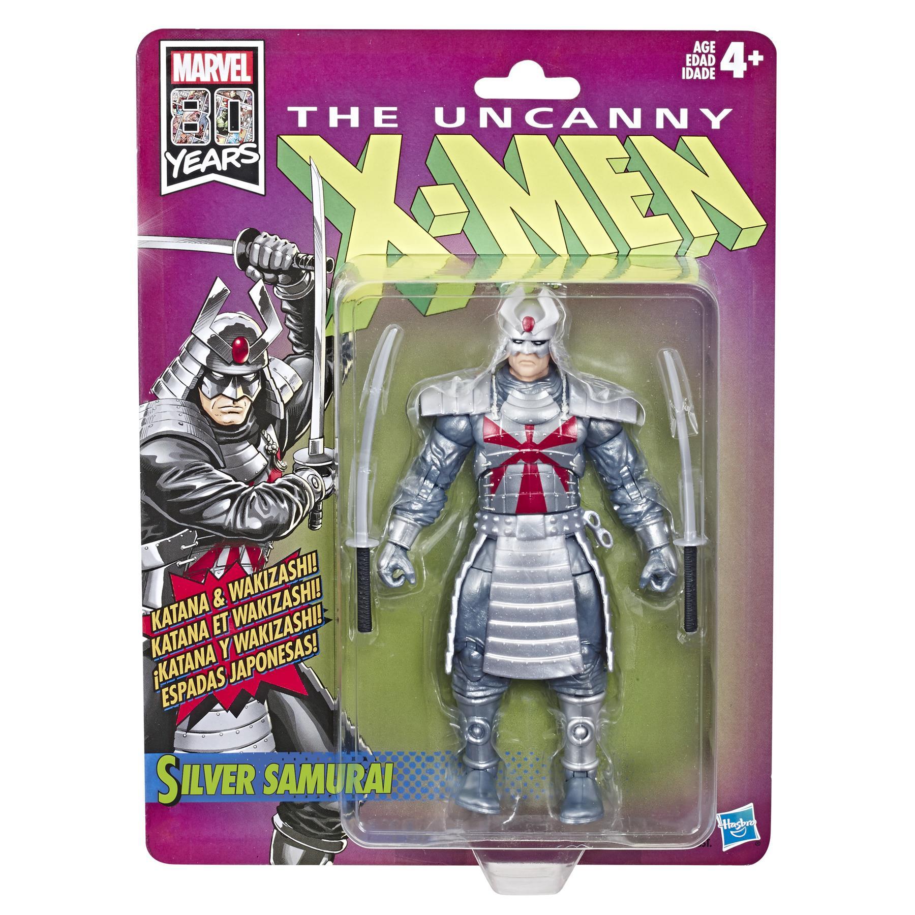 "Marvel Legends Retro The Uncanny X-Men SILVER SAMURAI 6/"" Action Figure LOOSE"