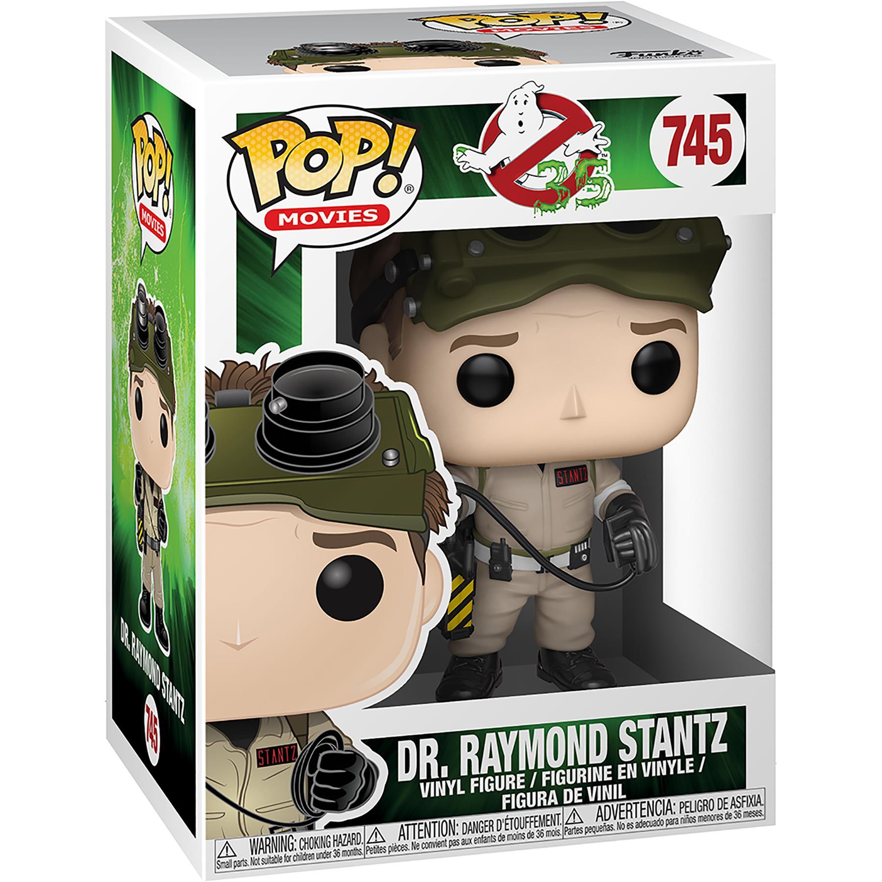 DR Raymond Stantz #745 FUNKO POP Figura 35TH ANNIVERSARIO Ghostbusters film