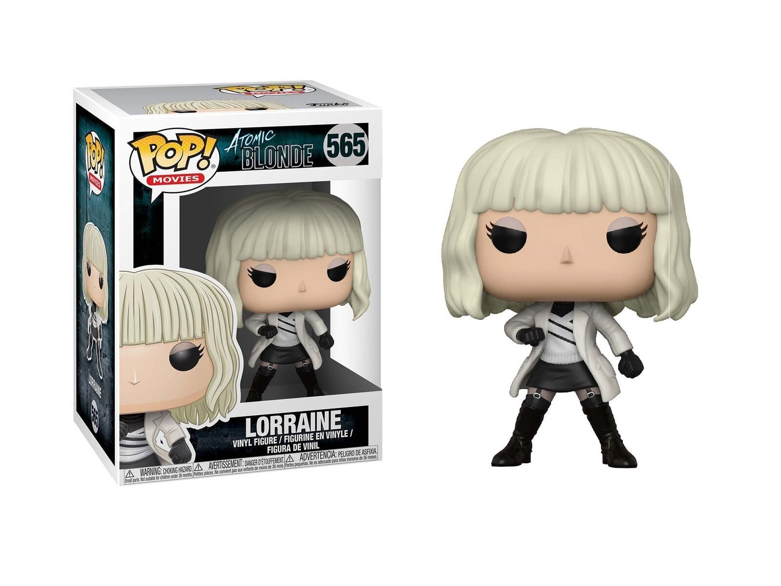Vinyl Atomic Blonde Lorraine White Coat Figure No 565 Funko Pop