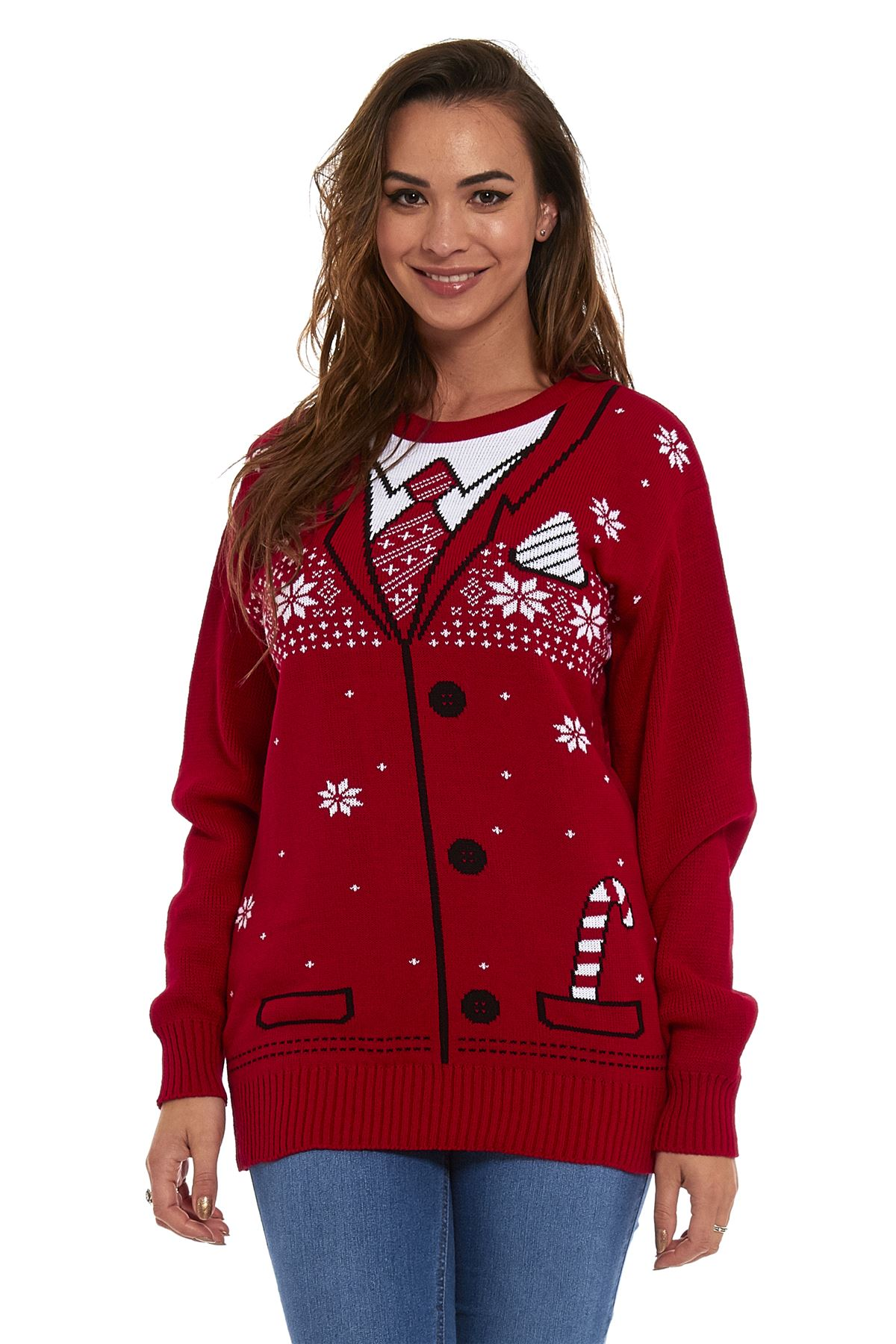 ladies christmas jumper size 20