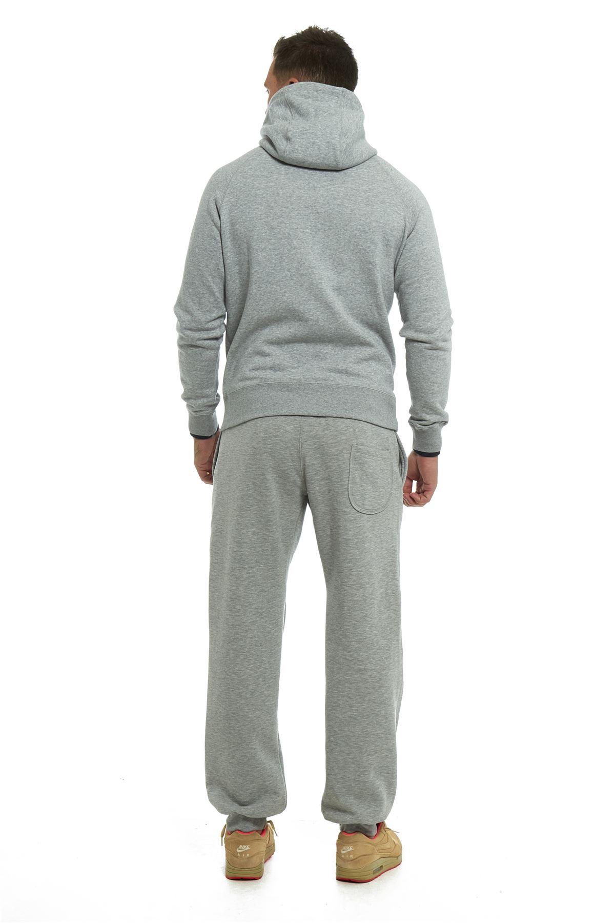 Blank Men's Microfiber Fleece Lined Top & Bottom Set MHS100