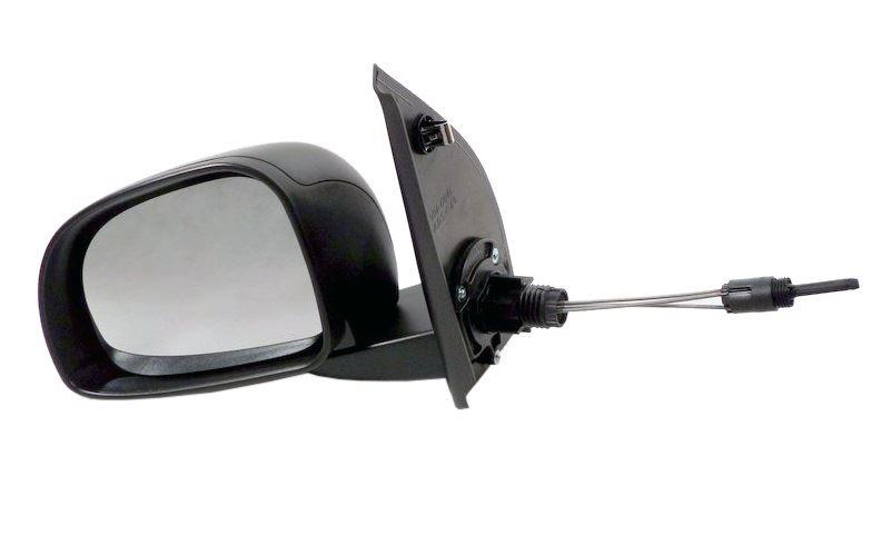Fiat Panda 2009-2012 Door Mirror Manual Cable Black Pair Left /& Right