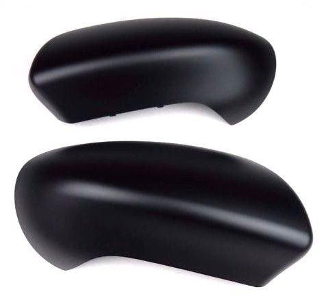 For Nissan Qashqai 2007-2014 Door Wing Mirror Cover Black N//S Passenger Left