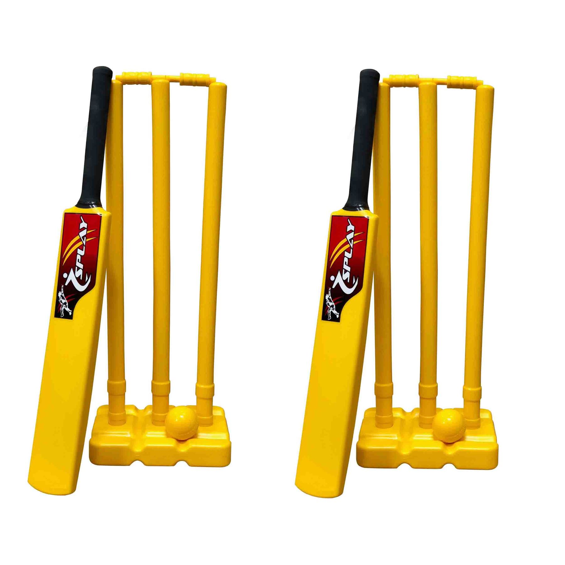 Kwik Balls Yellow Cricket Soft indoor training club outdoor windball wind ball