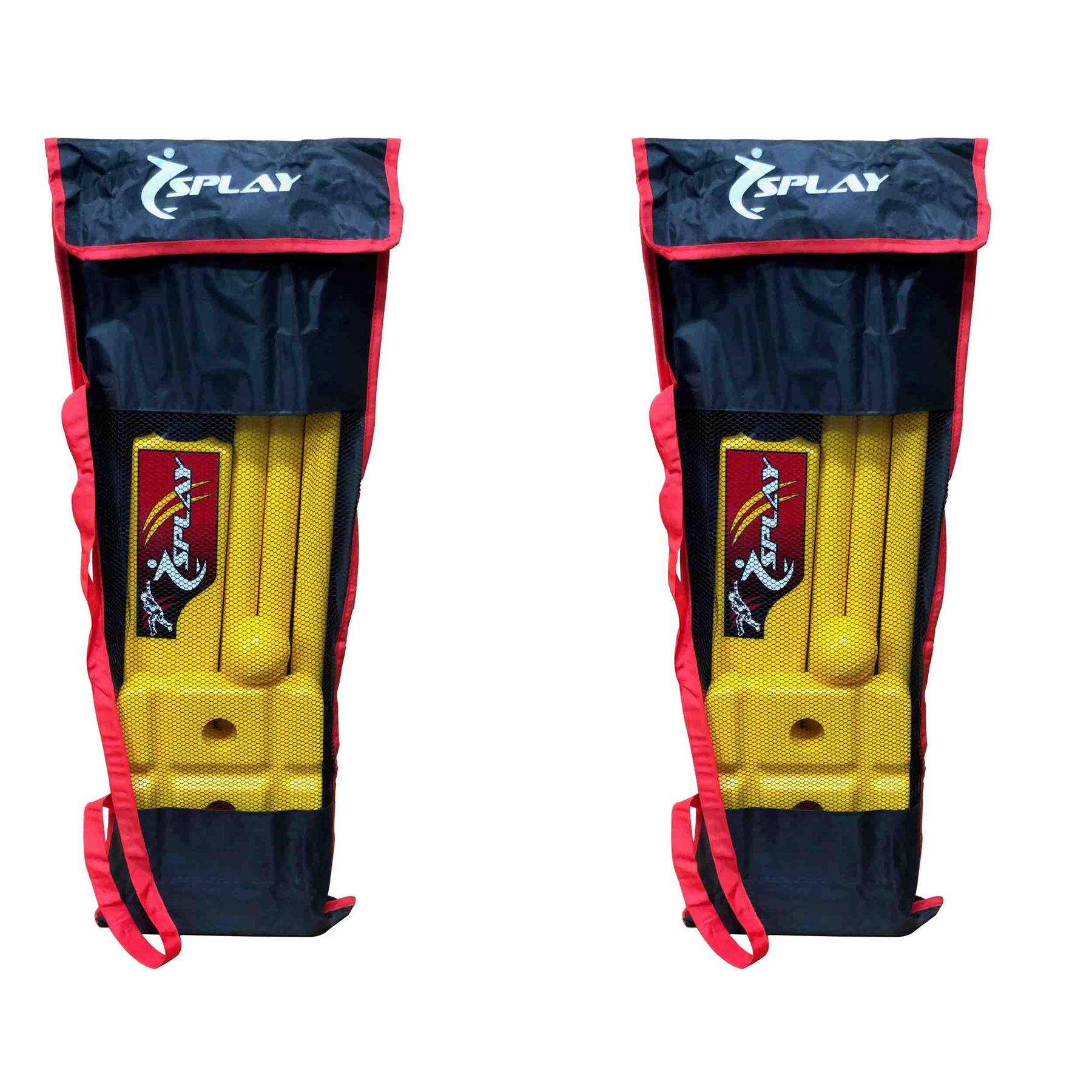 Cricket Kwik Set indoor outdoor plastic bails ball stumps kit complete case 1