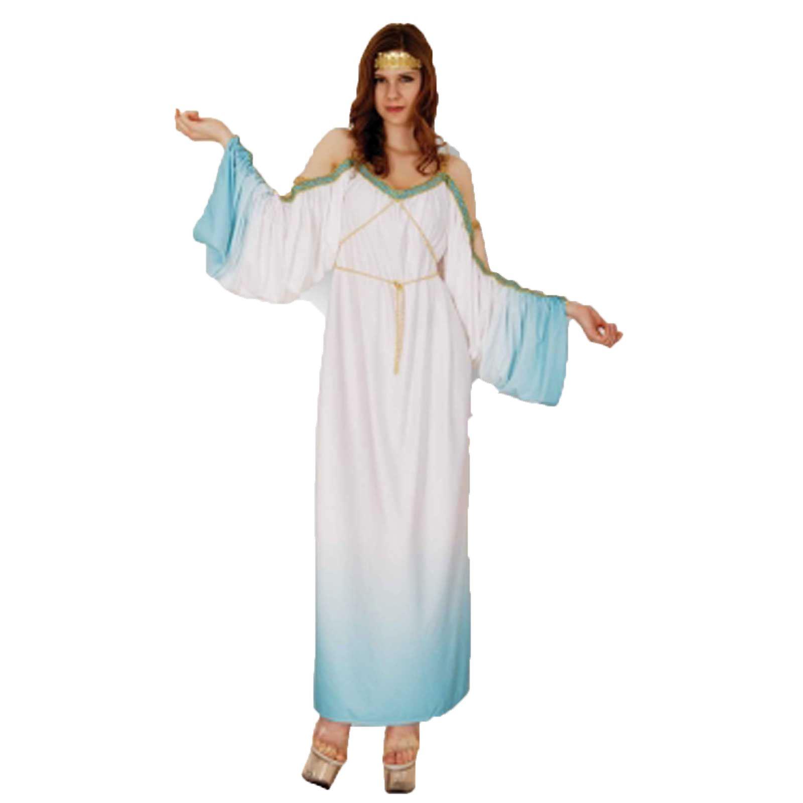 New-Womens-Christmas-Goddess-Greek-Roman-Costumes-Adults-  sc 1 st  eBay & New Womens Christmas Goddess Greek Roman Costumes Adults Xmas Fancy ...