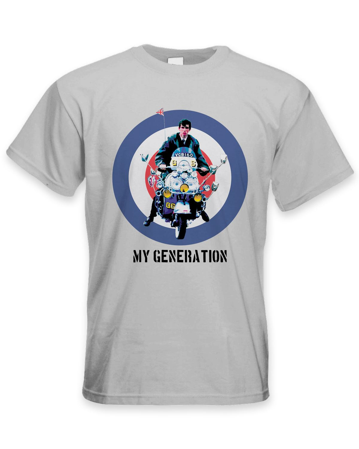 release date b526c 54a71 Details about My Generation Mod Scooter Men's T-Shirt - Jam Fashion The Who  Quadrophenia