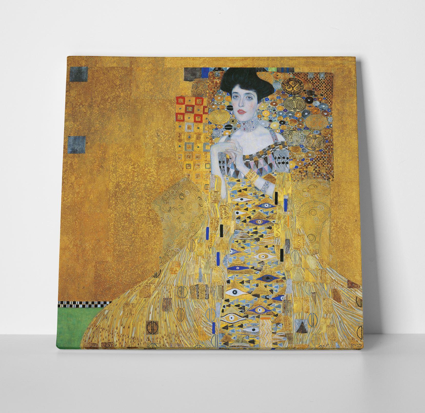 Gustav Klimt Adele Box Canvas Print Wall Art - Choice of Sizes   eBay