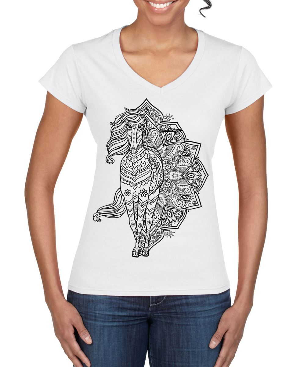 Cat With Tattoos Hipster Large Print Women/'s T-Shirt Dress