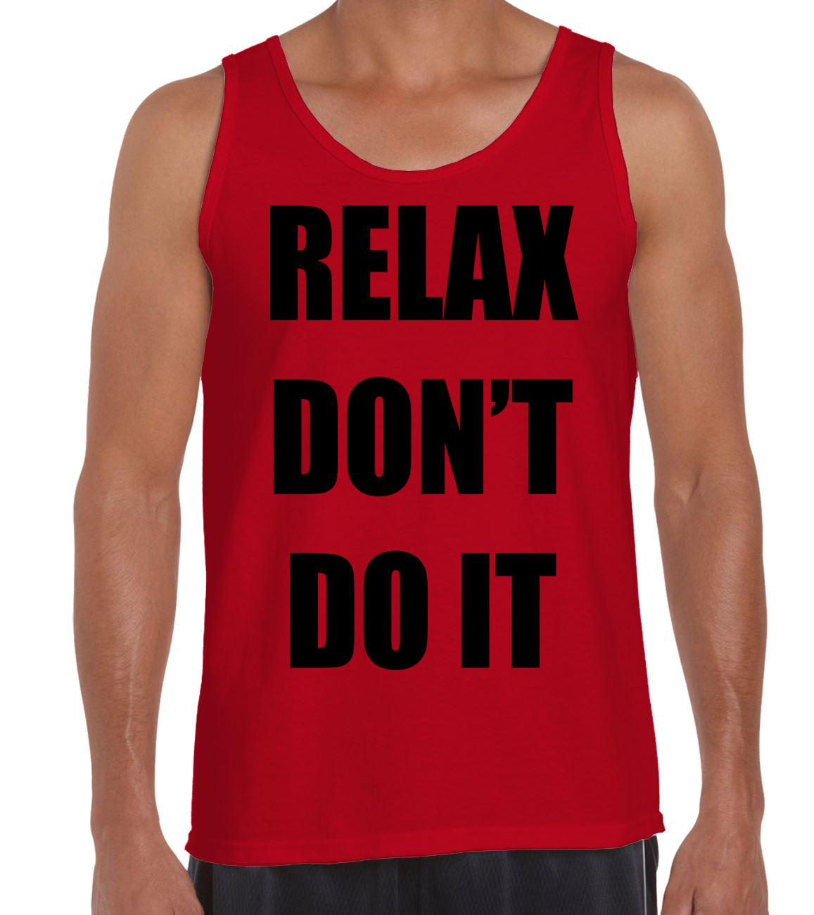 Funny Fancy Dress 80s Music Retro Frankie 1980s Mens RELAX Dont Do It T-Shirt