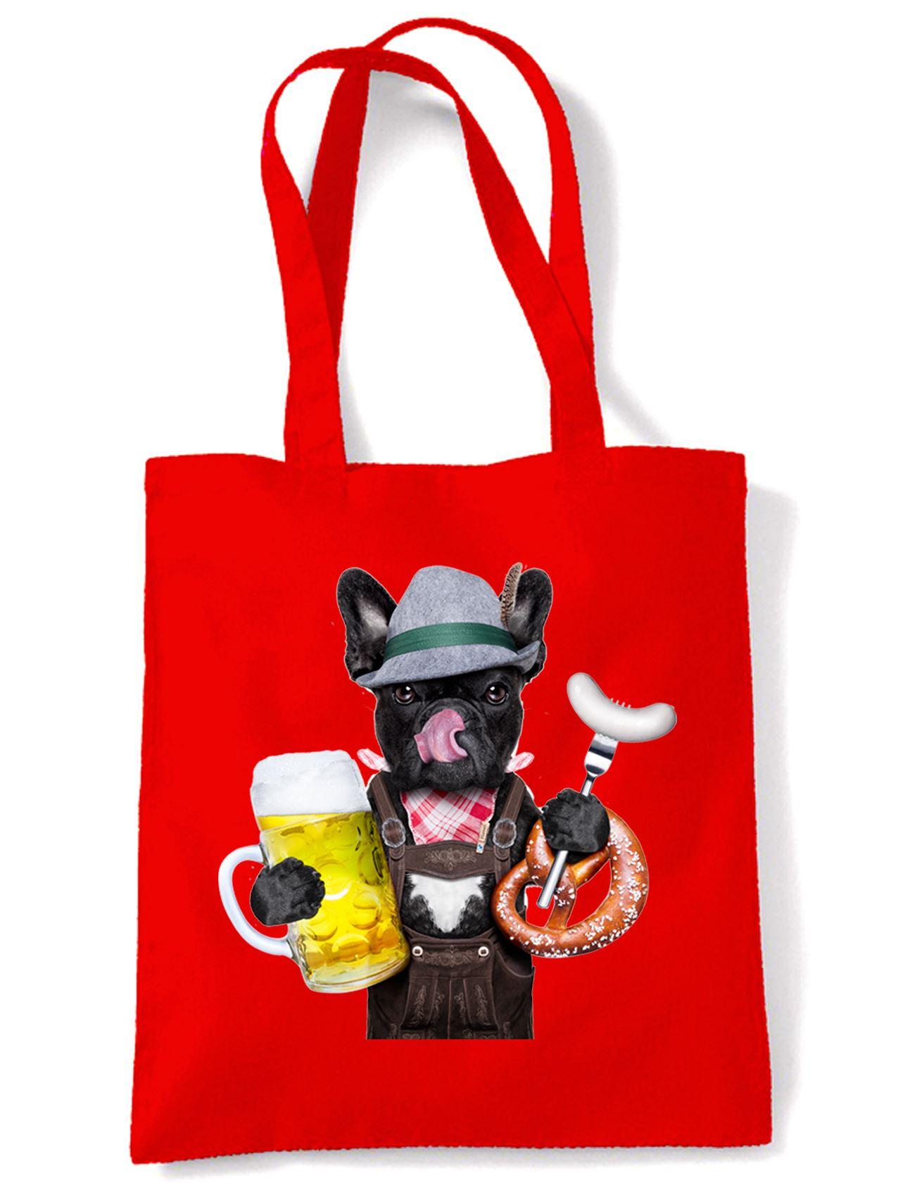 French-Bulldog-Bavarian-Beer-Style-Tote-Shoulder-Bag-Funny-Pet-Bull-Dog