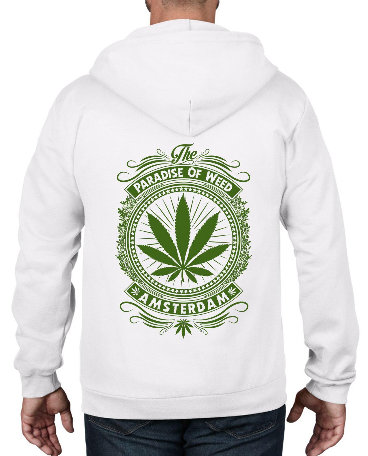 Super Skunk Mens Funny Weed Hoodie Cannabis Drug Culture Man Pot