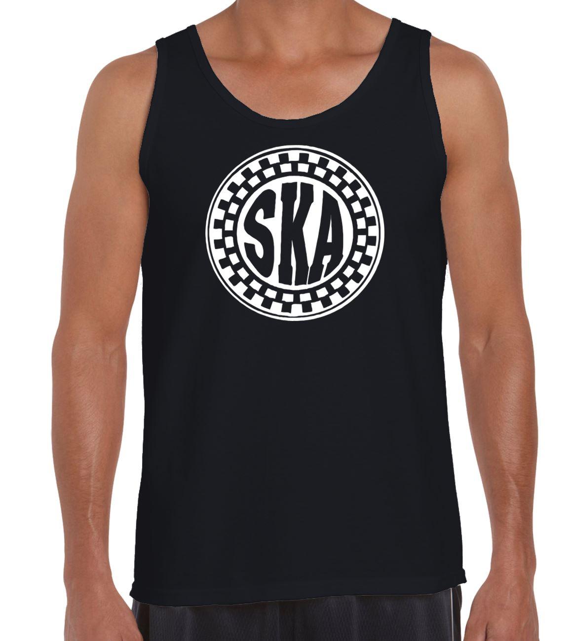 Ska Madness The Specials Ska Circle Short Sleeve T-Shirt Dress