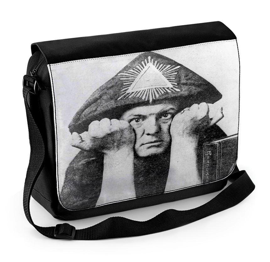 rock, goth Messenger Laptop Bag // occult OUIJA BOARD Darkside