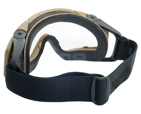 Airsoft paintball ops core SAUTER casque rail clair lunettes lunettes si TAN sable de