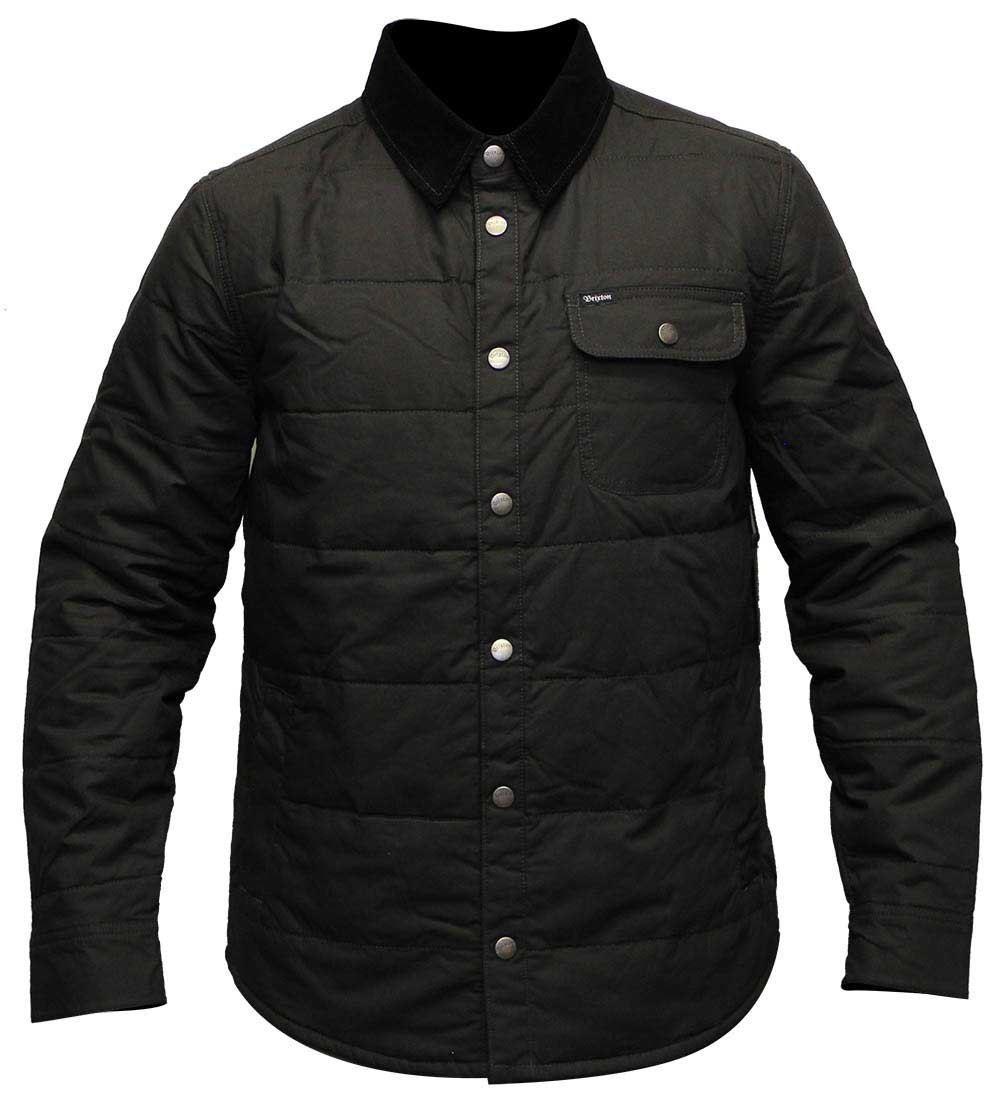 Brixton Cass Jacket Black Black  baae5cd4ec4