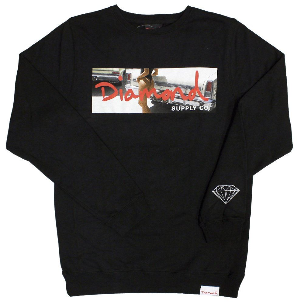 18d98ec6d3cf5 Diamond Supply Co Cali Life Sweatshirt Black