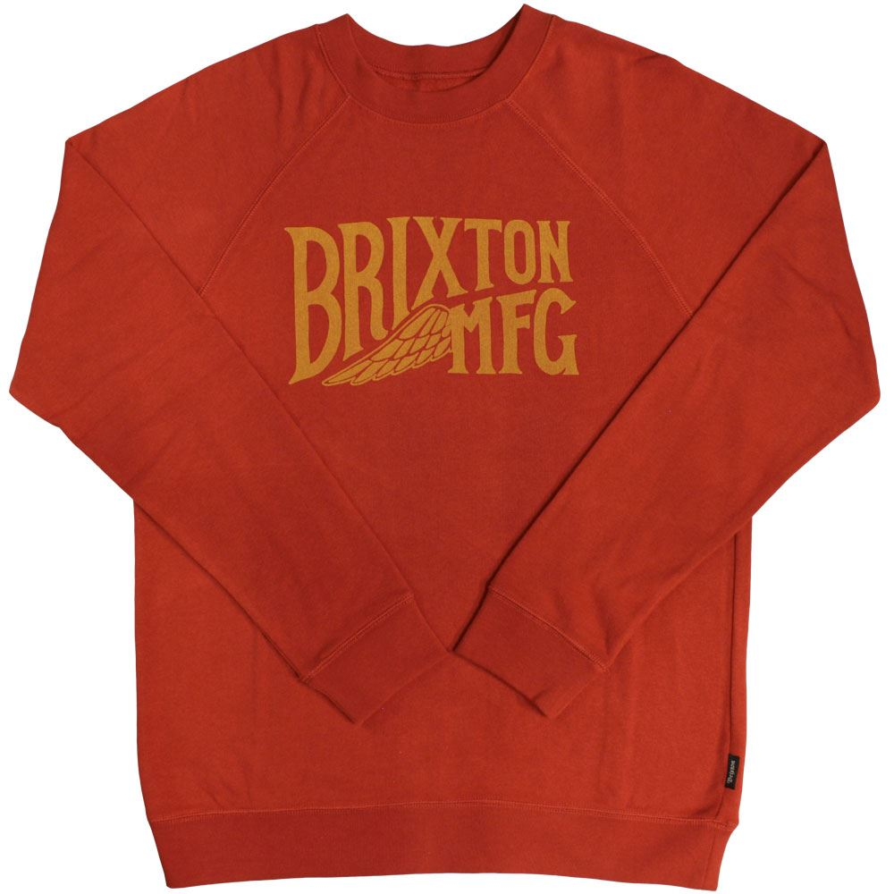 Brixton Coventry Sweatshirt Red