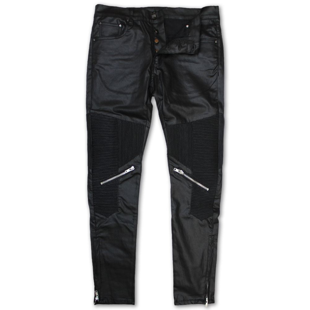 Denim Black Dope Jeans Moto Tapered Couture Foothill nwWqWp4f