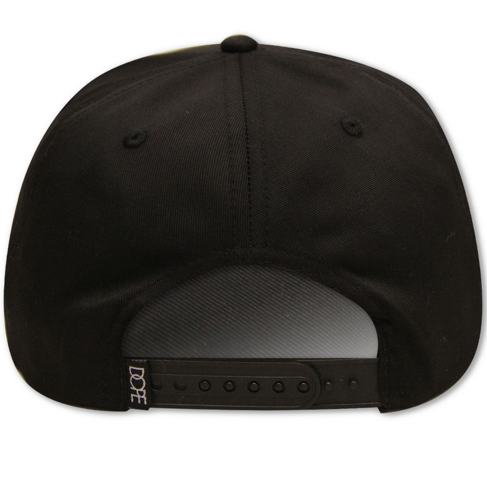 brand new 027fb d5f3a ... promo code for dope couture classic logo snapback black 13aa8 4d8ee ...
