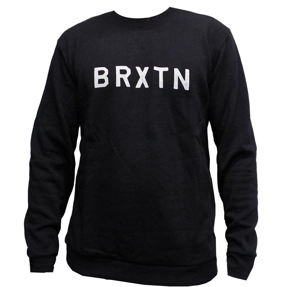 Brixton Murray Sweatshirt Washed Schwarz
