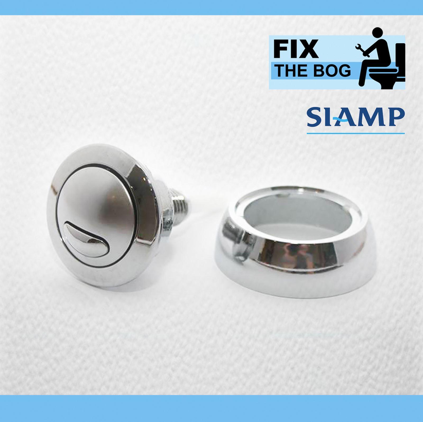 Siamp Optima 49 Toilet Push Button Dual Flush Water Saving