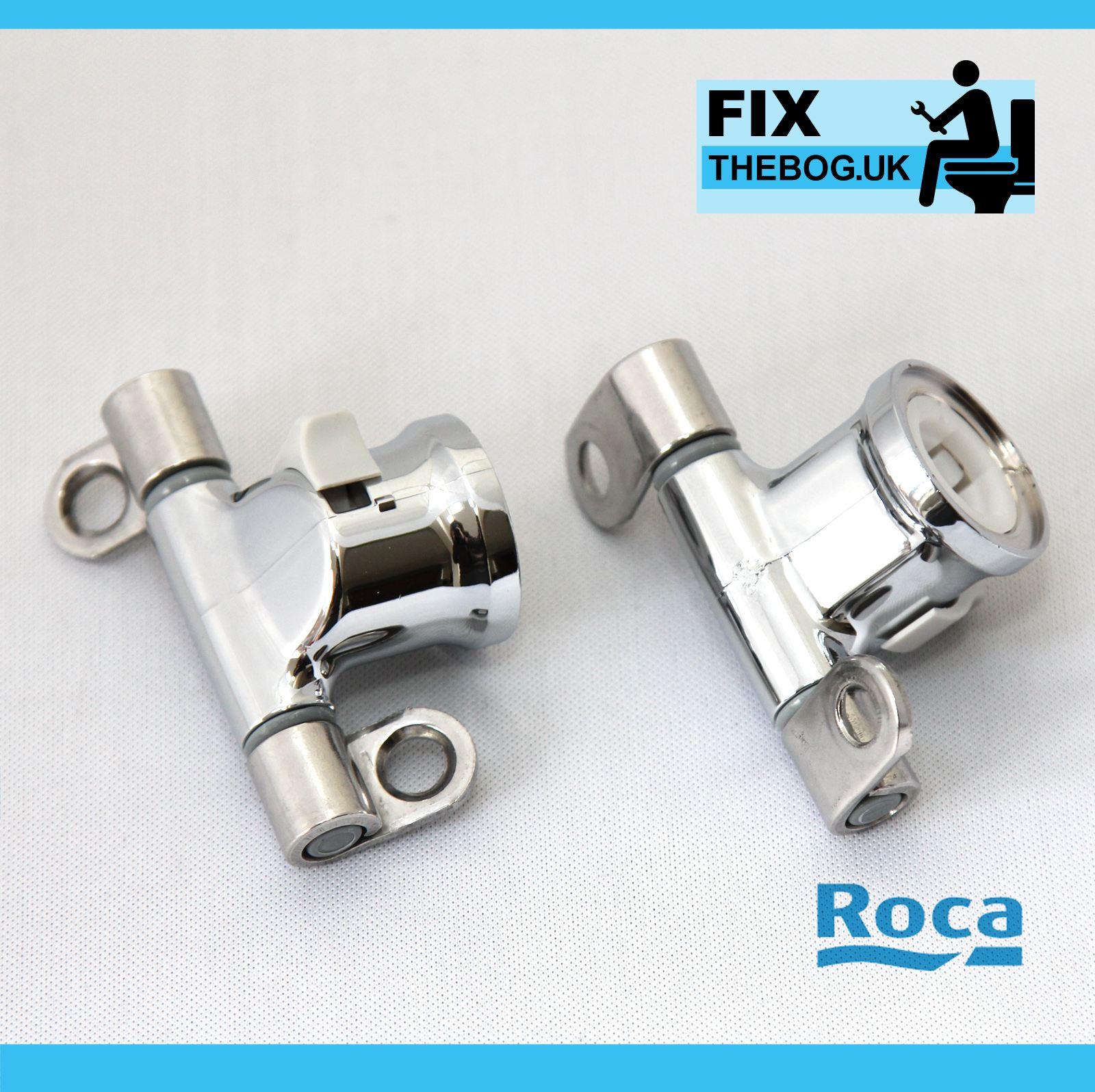Roca Giralda Senso Removable Toilet Seat Hinge Set Easy