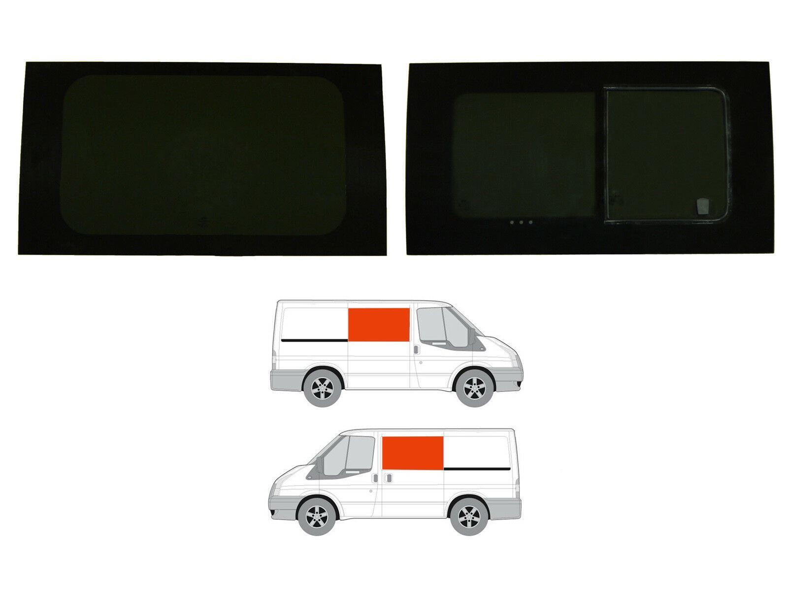 SWB 00-14 Right Hand Panel Dark Tint Opening Window Kit Ford Transit MK6//7