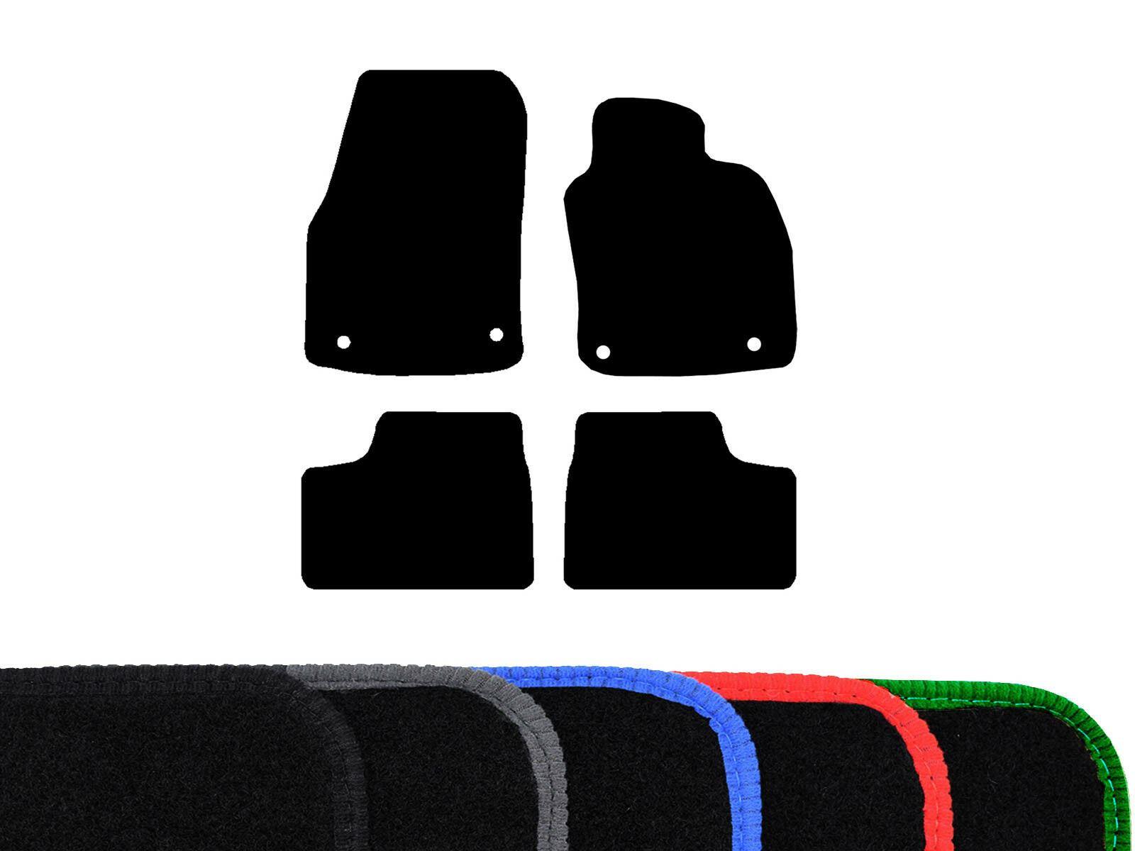 VAUXHALL ASTRA 15 ON  BLACK /& BLUE TRIM CAR FLOOR MATS