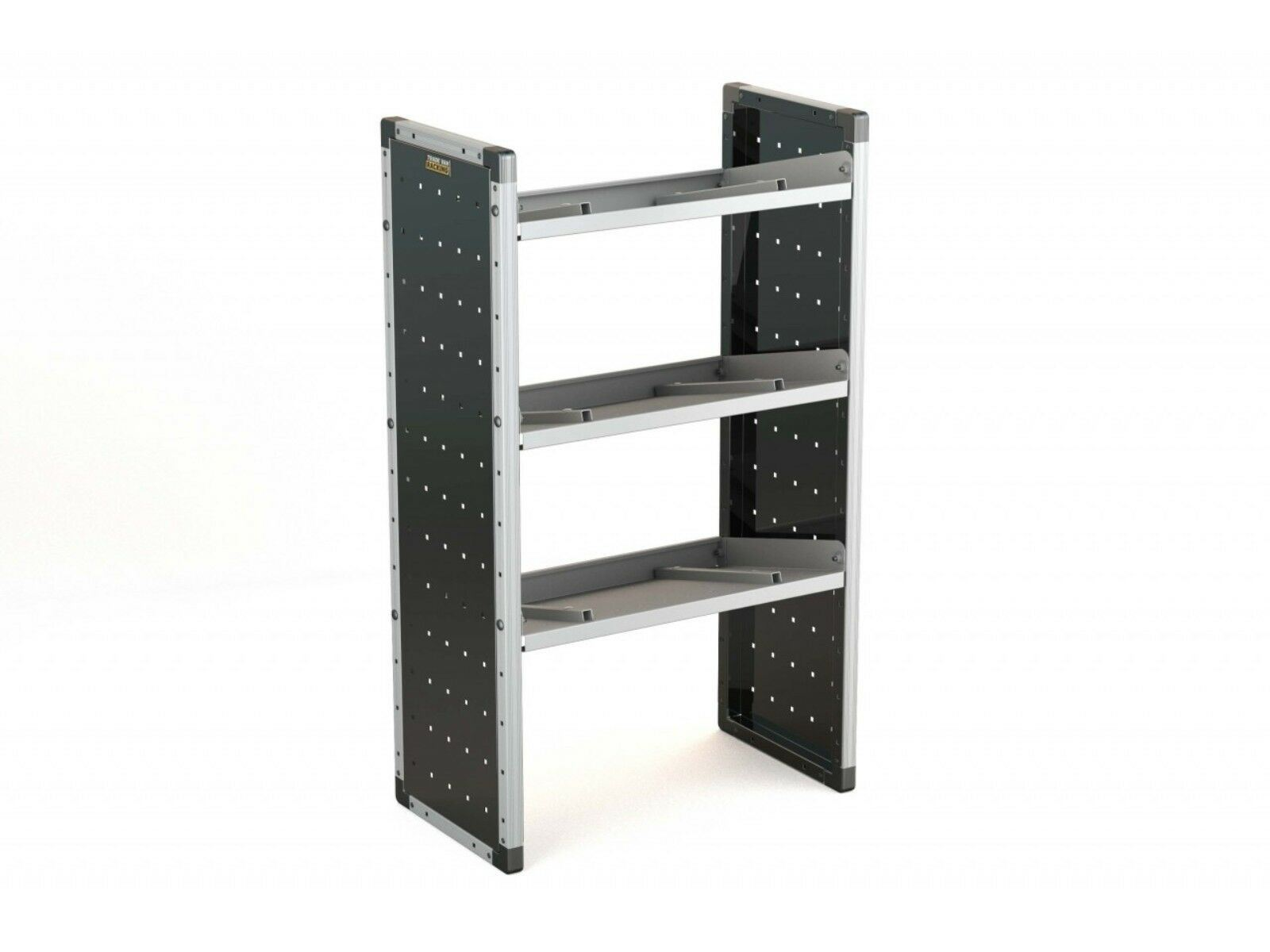 Van Guard Aluminium Racking Angled Shelf Triple Unit Storage System Universal Ebay
