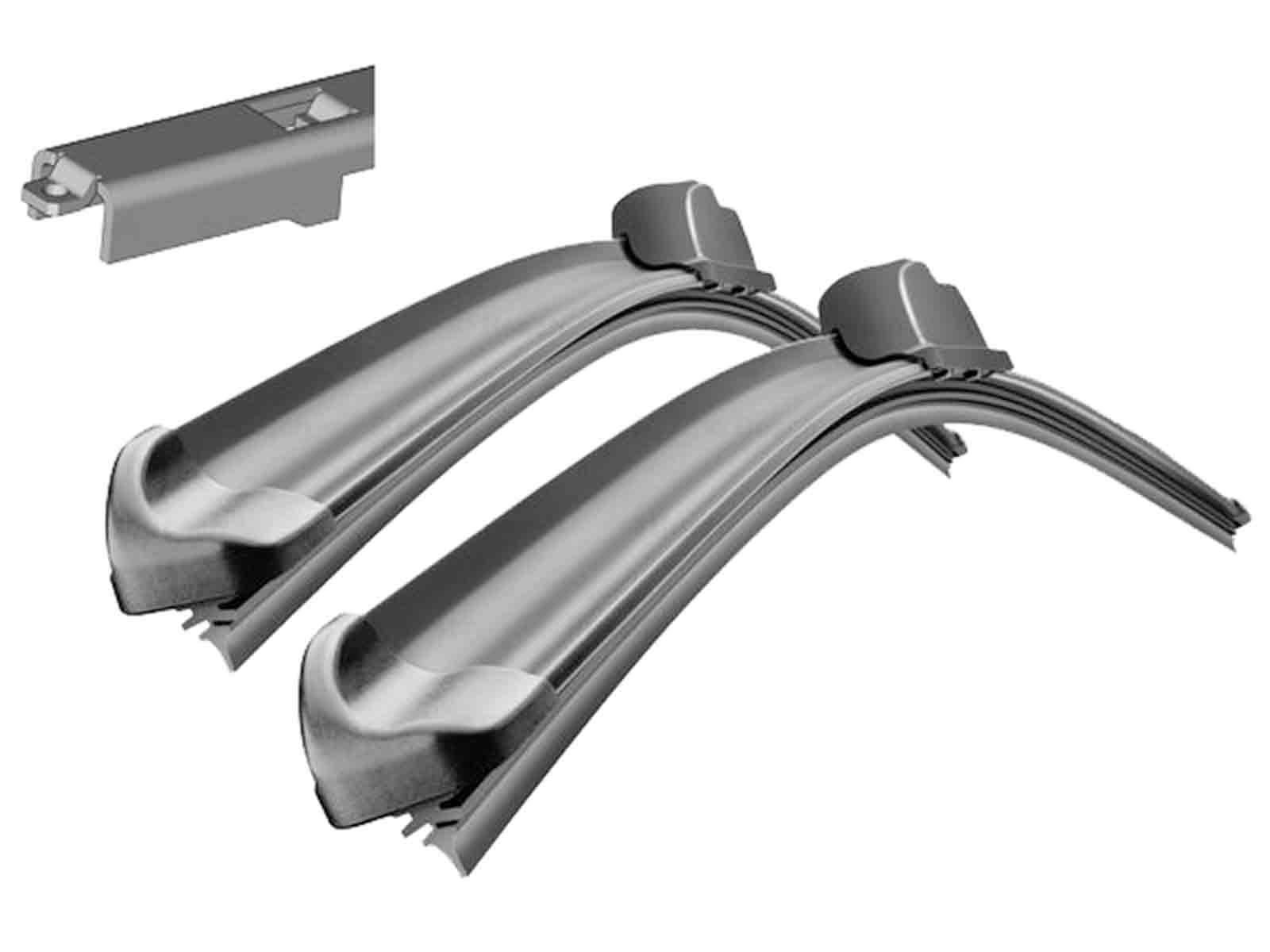 Bosch Aerotwin Front /& Specific Rear Wiper Blades Genuine Windscreen Window Set