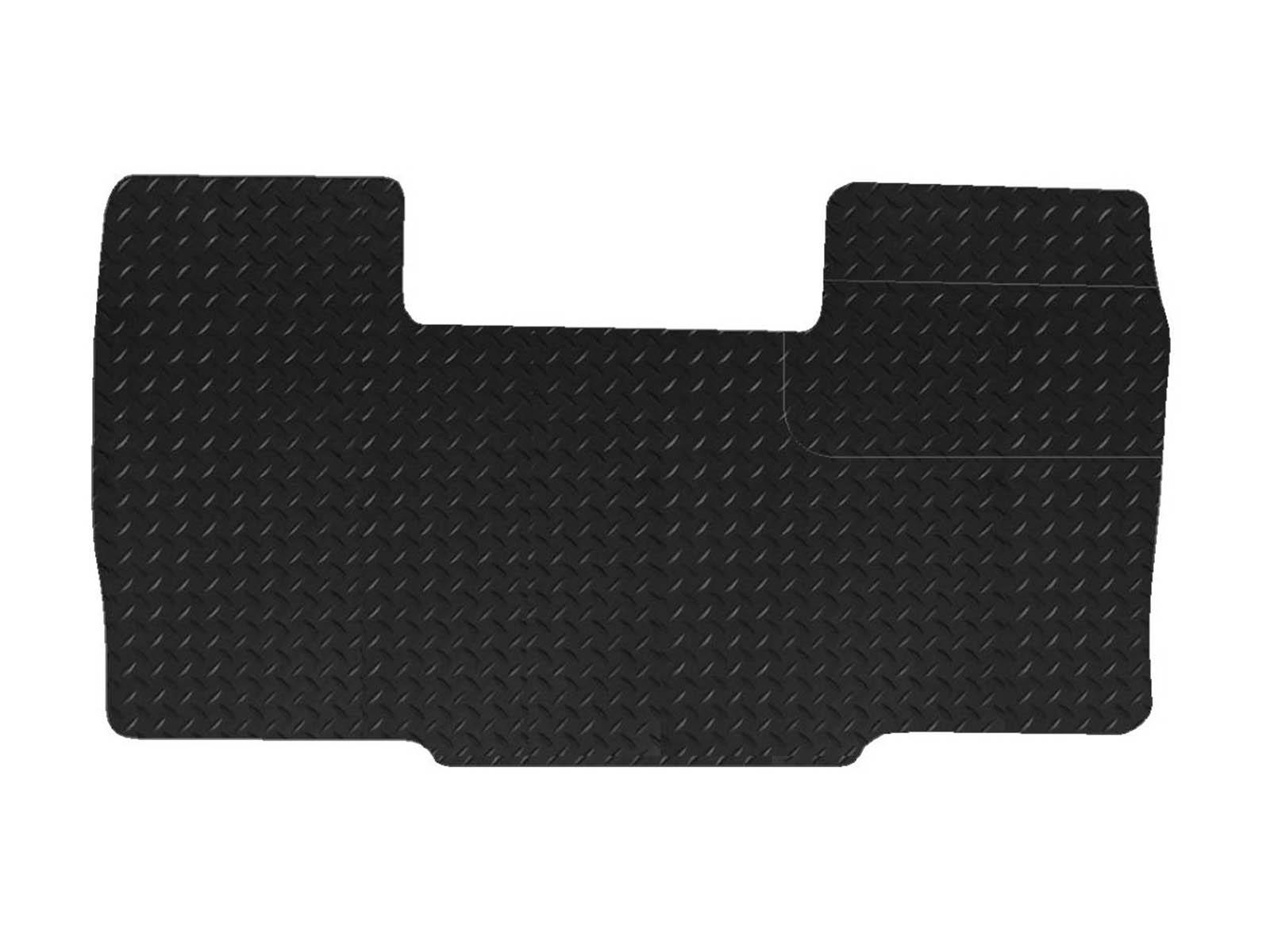1994 To 2006 Fiat Ducato Van New Quality Black Rubber Tailored Car Floor Mats