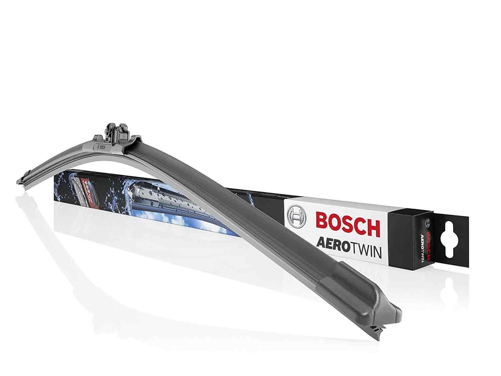 "Bosch Aerotwin Plus 24/""//22/"" Flat Front Windscreen Wiper Blades"