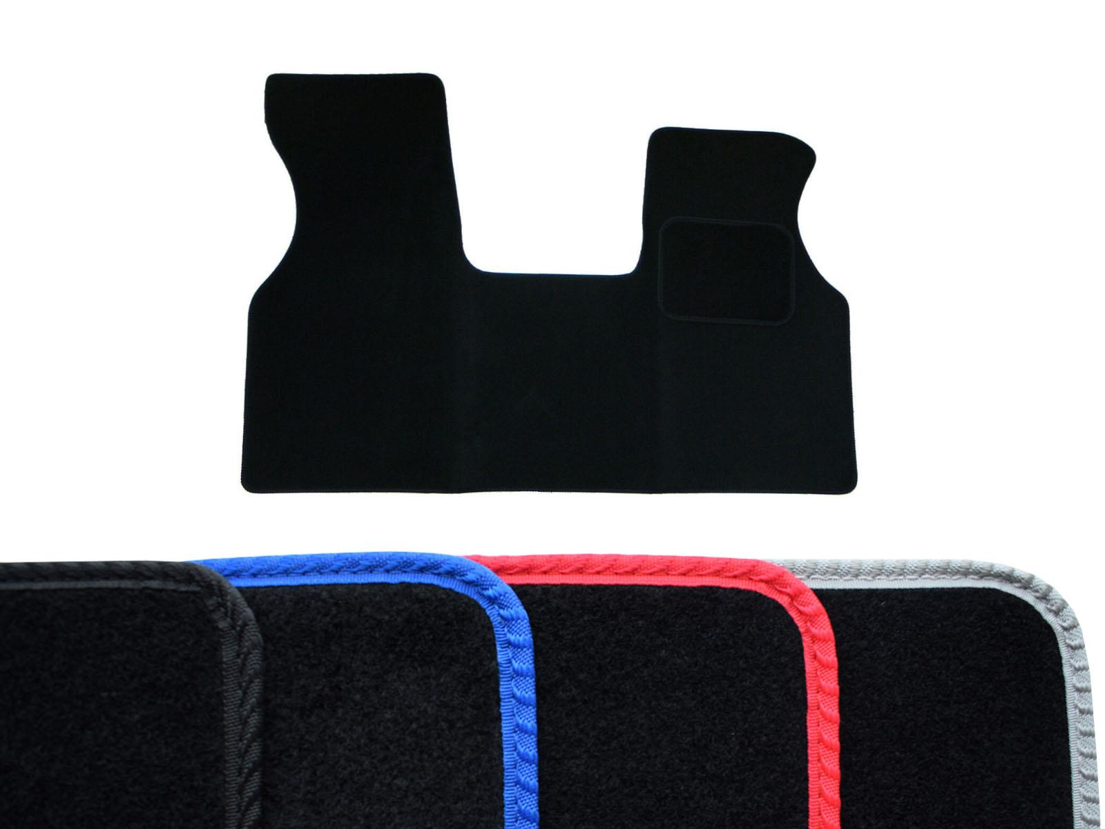 Details about Tailored 1pc Black Carpet Floor Mat Colour Trim for VW Transporter T4 (90 03)