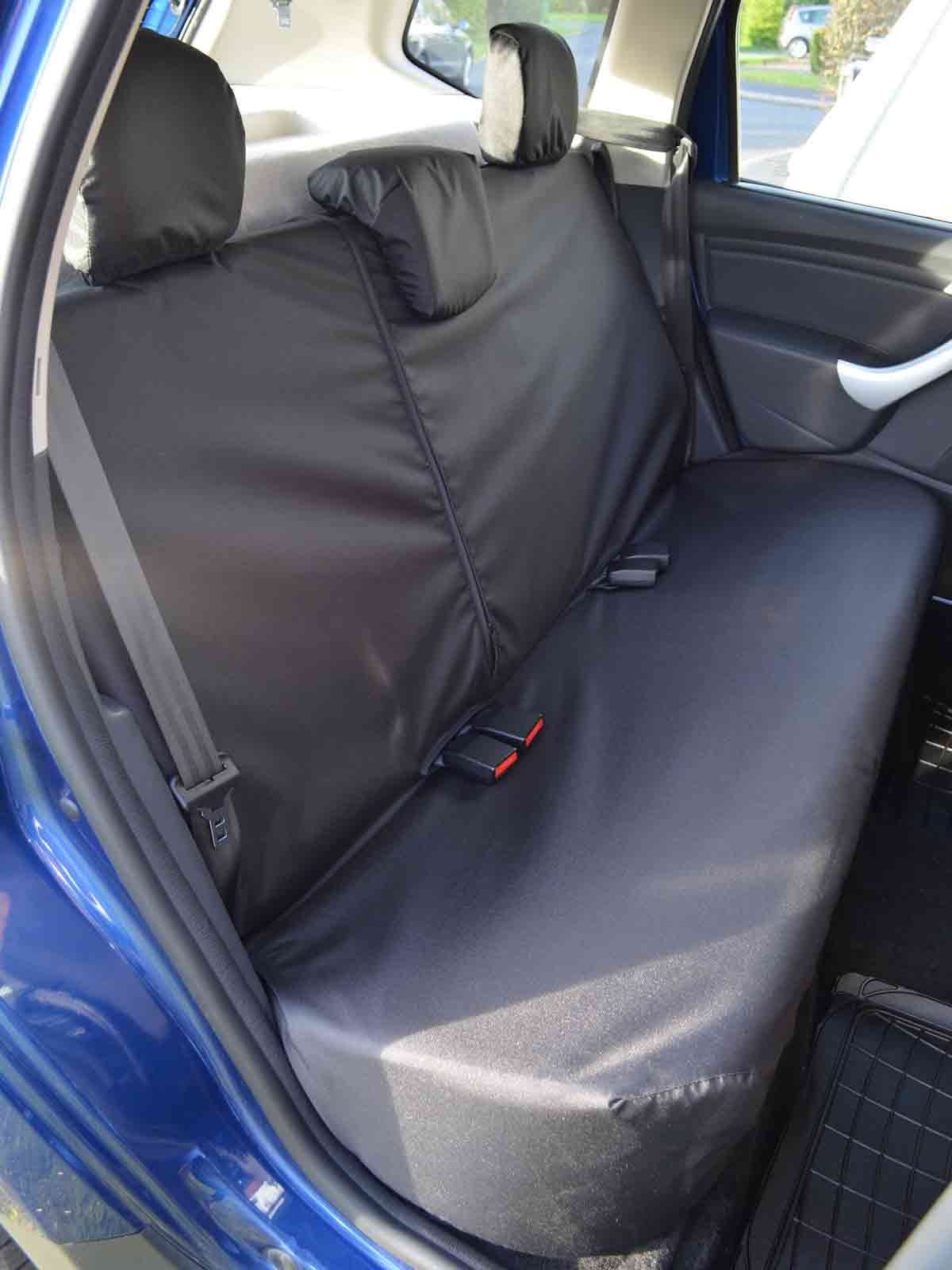 Tailored Fit Waterproof Black Rear Bench Seat Covers For Dacia Duster 13 18 Archives Midweek Com