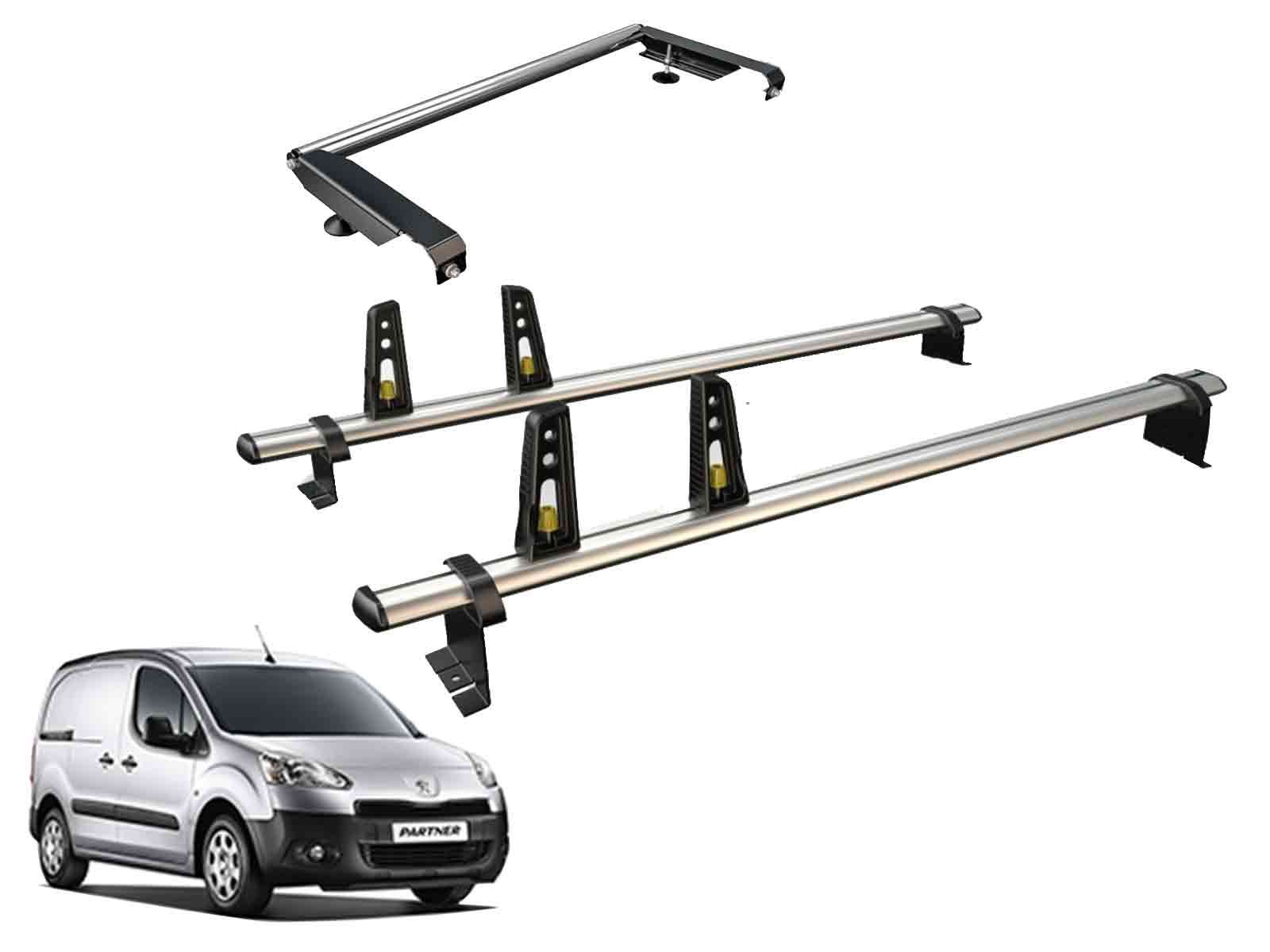 Citroen Berlingo//Peugeot Partner roof rack 2018 Roller 2 bars