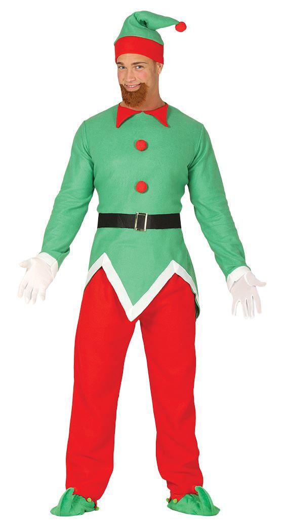 Boys Cheeky Elf Santas Little Helper Christmas Xmas Fancy Dress Costume Outfit